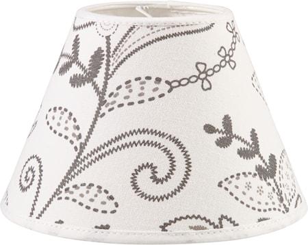 Bild av PR Home Royal Lampskärm Slinga Vit 20cm