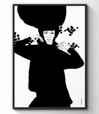 Bild av Christina Heitmann Illustration & Design Sonja poster