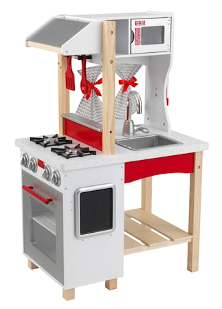 New modern island kitchen