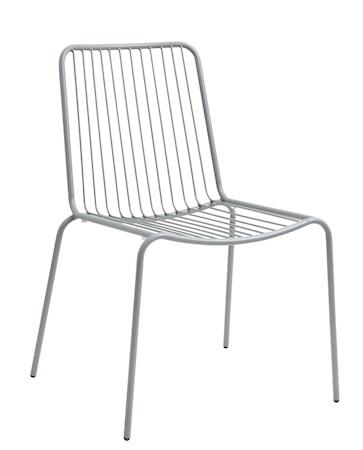 Trädgårdsstol 83x51 cm - Grå