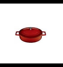 Gryde Lav Rød 24 cm 2,4 L