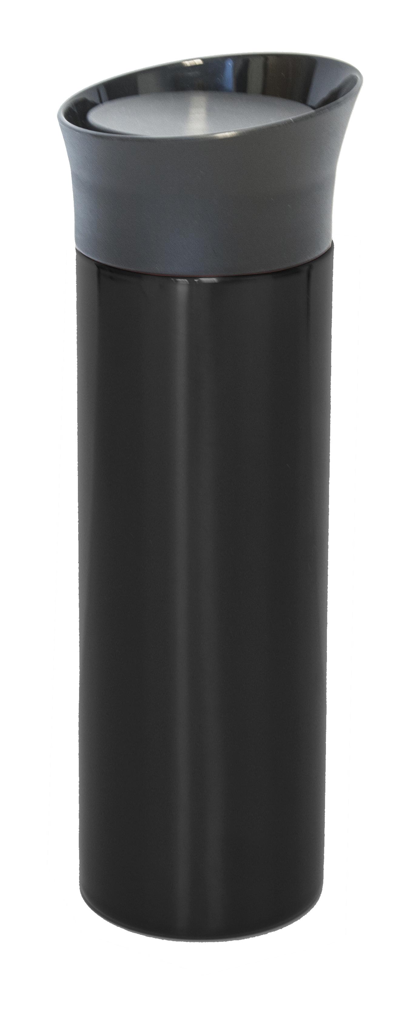 Bilmugg rak stor, svart