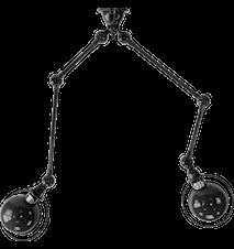 Loft SKY4224 Taglampe 40x25/25x40 cm