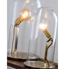 Speak up dome transparent small bordslampa