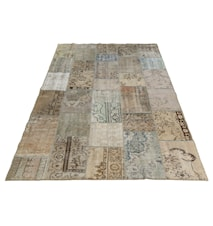 Vintage Patchwork matta - Antique