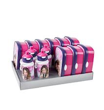 Matlådsset inkl. vattenflaskor Violetta 13-delar