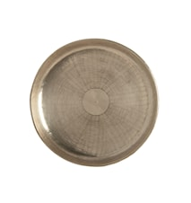 Fat Carve Ø 38 cm - Silver