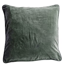 Velvet Cushion Cover Kuddfodral - Agath green