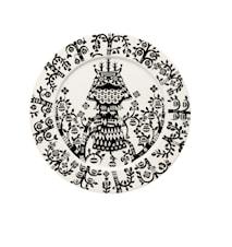 Taika Tallerken 27 cm sort