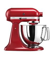 Artisan 125 Köksmaskin 4,8 liter Röd