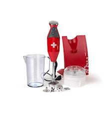 Stavblender Swissline 200W rød