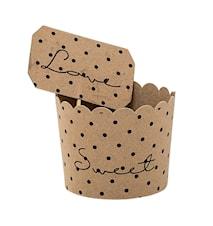 Muffinsform Papp 8st