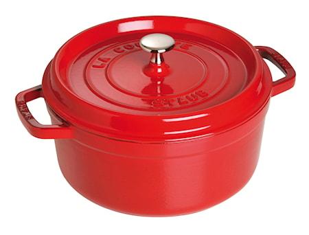 Staub Pyöreä pata 26 cm punainen 5,2 L