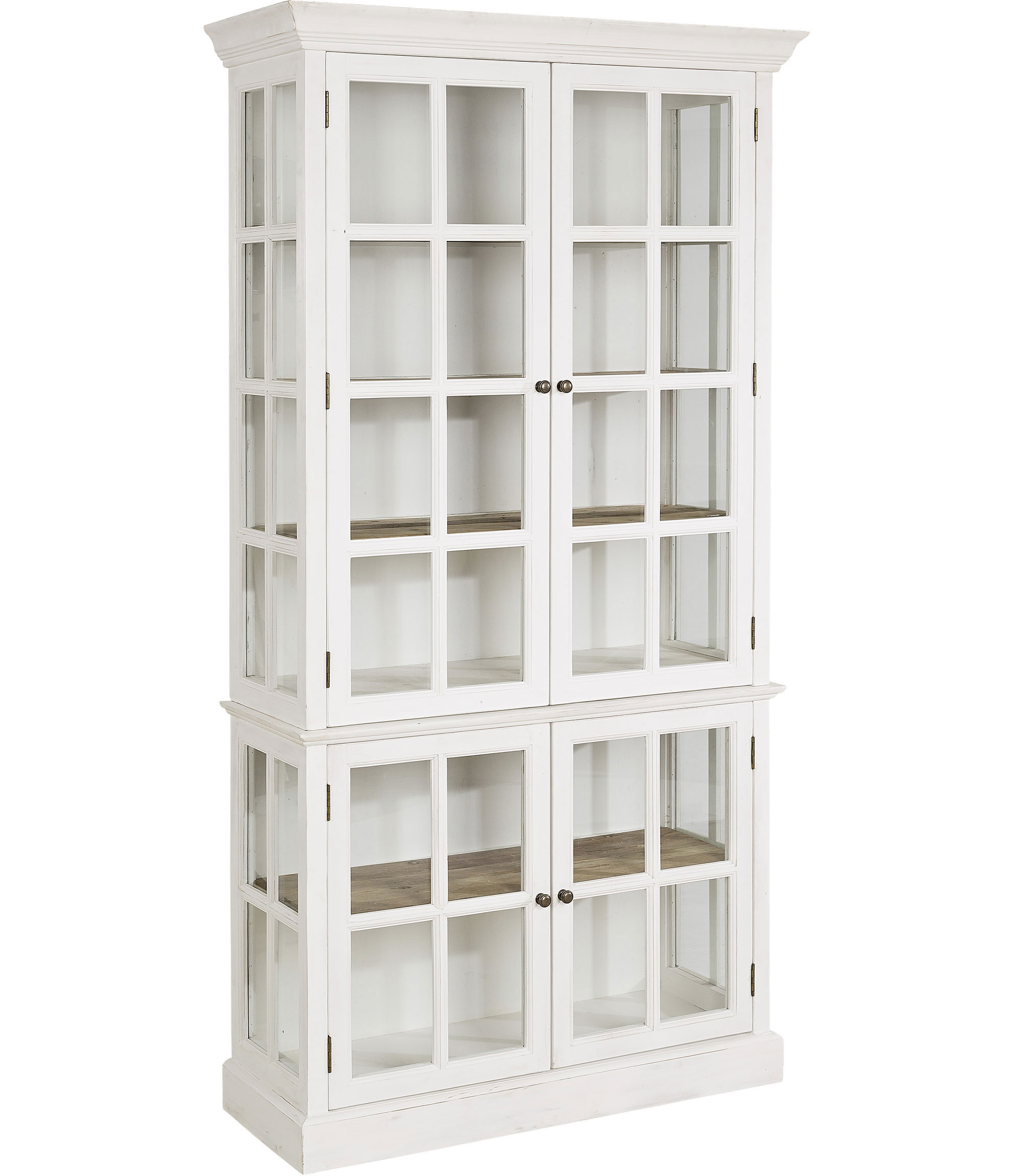 Elmwood WD cabinet vitrinskåp - Vit