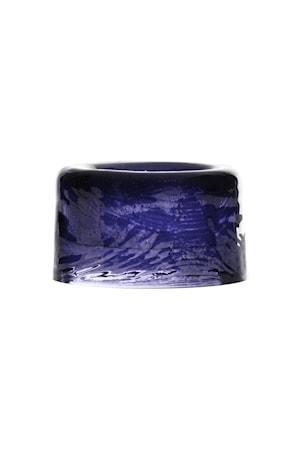 Ljuslykta Sarek 4 cm blå