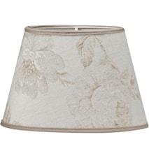 Oval Lampeskærm Rose Beige 30 cm