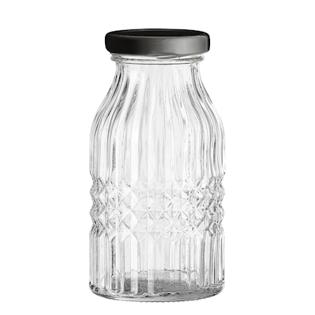 Flaske med låg Ø 7 cm