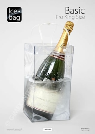 Ice bag king size- Vinkylarpåse för Magnumflaska