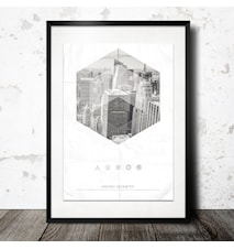 City Geometry poster