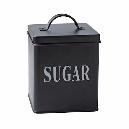 Galzone Säilytyspurkki Sugar Metalli 14×11,5 cm