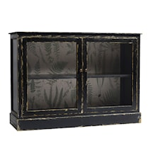 Ferns wallpaper sideboard