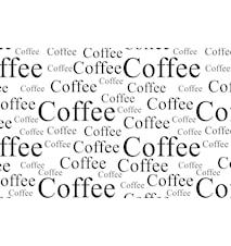 Tablett Kaffe 44x28,5 cm