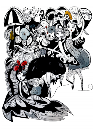 Hela baletten A3 poster