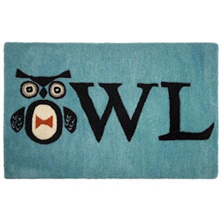 Owl dörrmatta