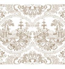 Delft baroque tapet – Beige