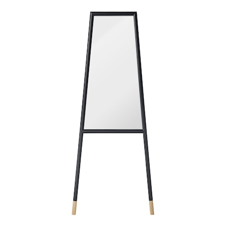 Bild av Bloomingville spegel med träram