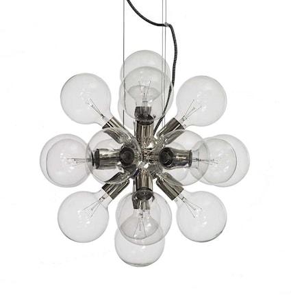 Bild av Krebs Lux silver taklampa