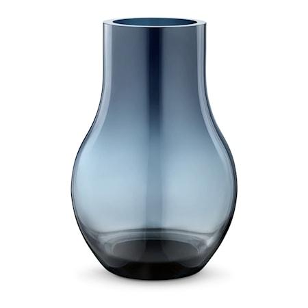 Bild av Georg Jensen Cafu Vas 30cm Blå Glas