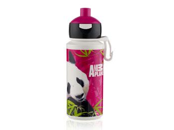 Dricksflaska Animal Panda Rosa