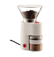 Bistro Elektrisk Kaffekvarn Vit