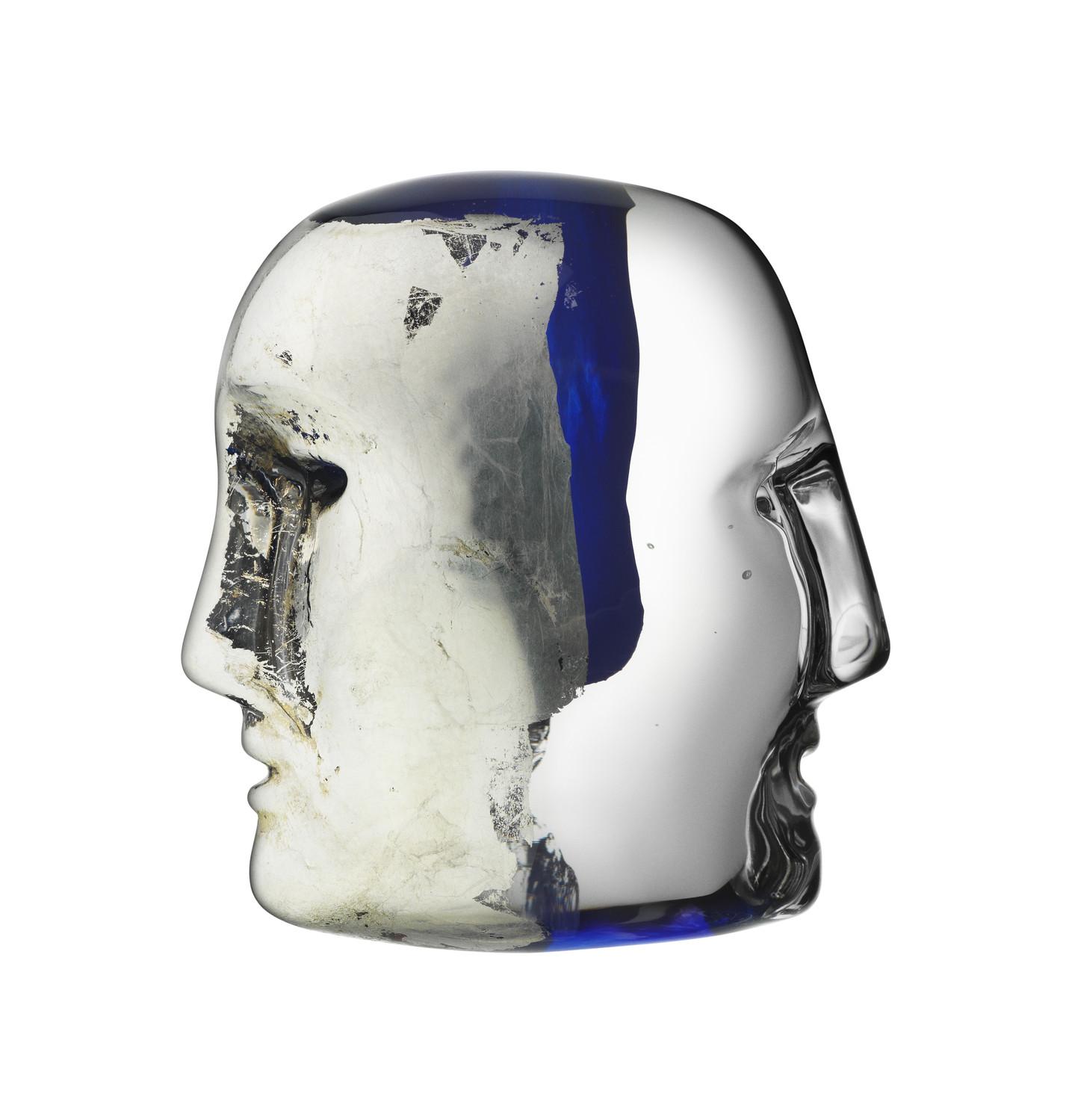 Brains Svart/Blå Janus 7,4 cm