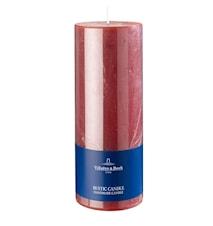 Ess. New Candles Rustic Stearinljus Röd 7x18cm