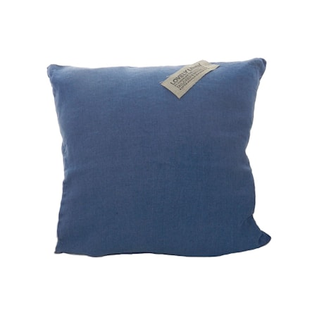 Bild av Lovely Linen by Kardelen Lovely linen kuddfodral – Denim blue