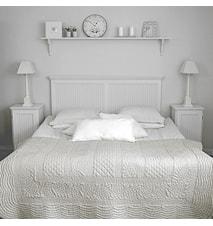 Rosgården dubbel sänggavel