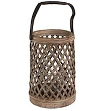 Bamboo vintage ljuslykta