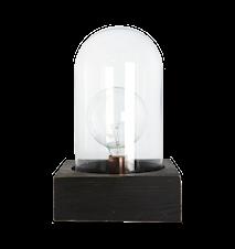 Bell Lampa Svart 23x23 cm