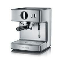 Espressomaskin Borstat Stål, 1200W