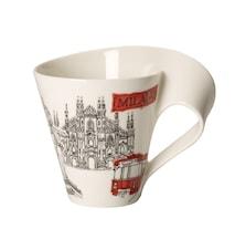 Cities of the World Mug Mugg 0,35l-Mailand