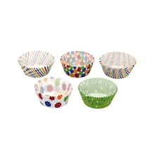 Cupcakeformar 250-p Mixade mönster 7 cm