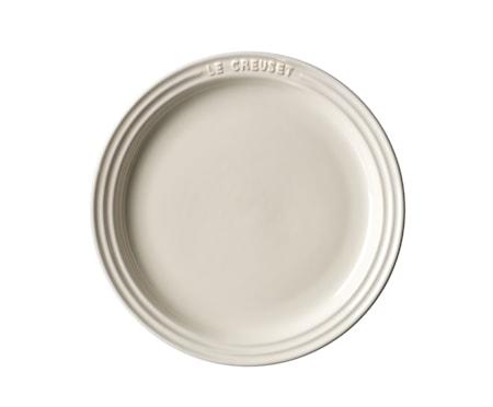 Le Creuset Tallrik 23 cm Pearl