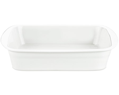 Lasagnefat vit, 3,5 liter 25x34 cm