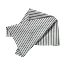 Handduk randig indigoblå/natur