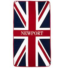 Union Jack beach towel