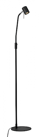 Alpha Floor Lamp Black