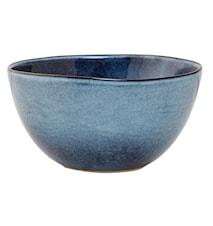 Sandrine blå 12-pack skål