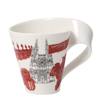 Cities of the World Mug Mugg 0,35l-Bordeaux